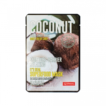 11993 Dermal It's Real Superfood Mask [COCONUT] 25g 2000px 8809647110521.jpg
