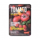 DERMAL It's Real Superfood Facial Mask Sheet [TOMATO]