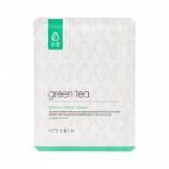 It'S SKIN Маска с зеленым чаем увлажняющая и освежающая