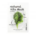 Too Cool For School Natural Vita kapsa ekstraktiga pinguldav kangasmask
